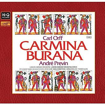Andre Previn & London Symphony Orchestra - Carl Orff: Carmina Burana [CD] USA import