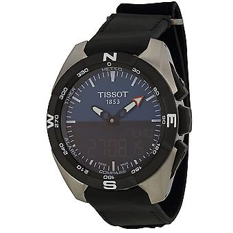 Tissot T-Touch Expert zonne-leder Mens Watch T0914204604100