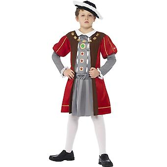 Tudor costume Henry VIII Henry King costume child size M