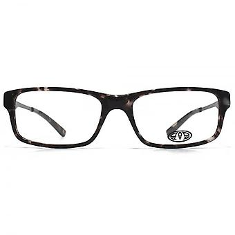 Animal Stokes Square Rectangle Acetate Glasses In Black Tortoiseshell