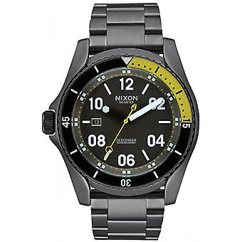 Nixon The Descender Watch - Gunmetal Grey