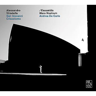 De Carlo, Andrea / Ensemble Mare Nostrum - Alessandro Stradella: San Giovanni Battista [CD] USA import
