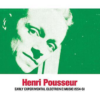 Henri Pousseur - tidlige eksperimenterende elektronisk musik 1954-61 [CD] USA import