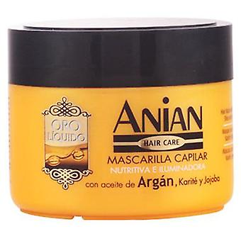 Anian Liquid Gold Mask with argan oil 250 Ml (Woman , Hair Care , Conditioners and masks)