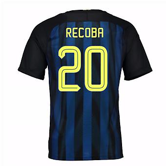 2016-17 Inter Milan Home Shirt (Recoba 20)