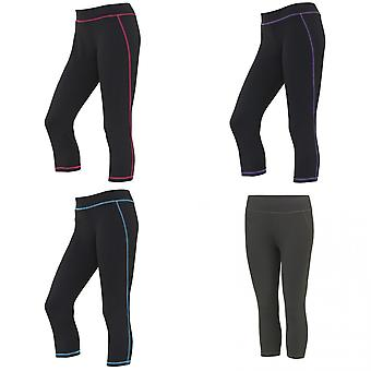 AWDis Just Cool Womens/Ladies Girlie Capri Sports Trousers