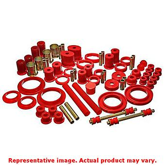 Energy Suspension Hyper-Flex System 4.18113R Red Fits:FORD 1985 - 1986 MUSTANG