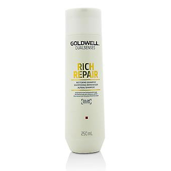 Goldwell Dual Senses Rich Repair Restoring Shampoo (Regeneration For Damaged Hair) 250ml/8.4oz