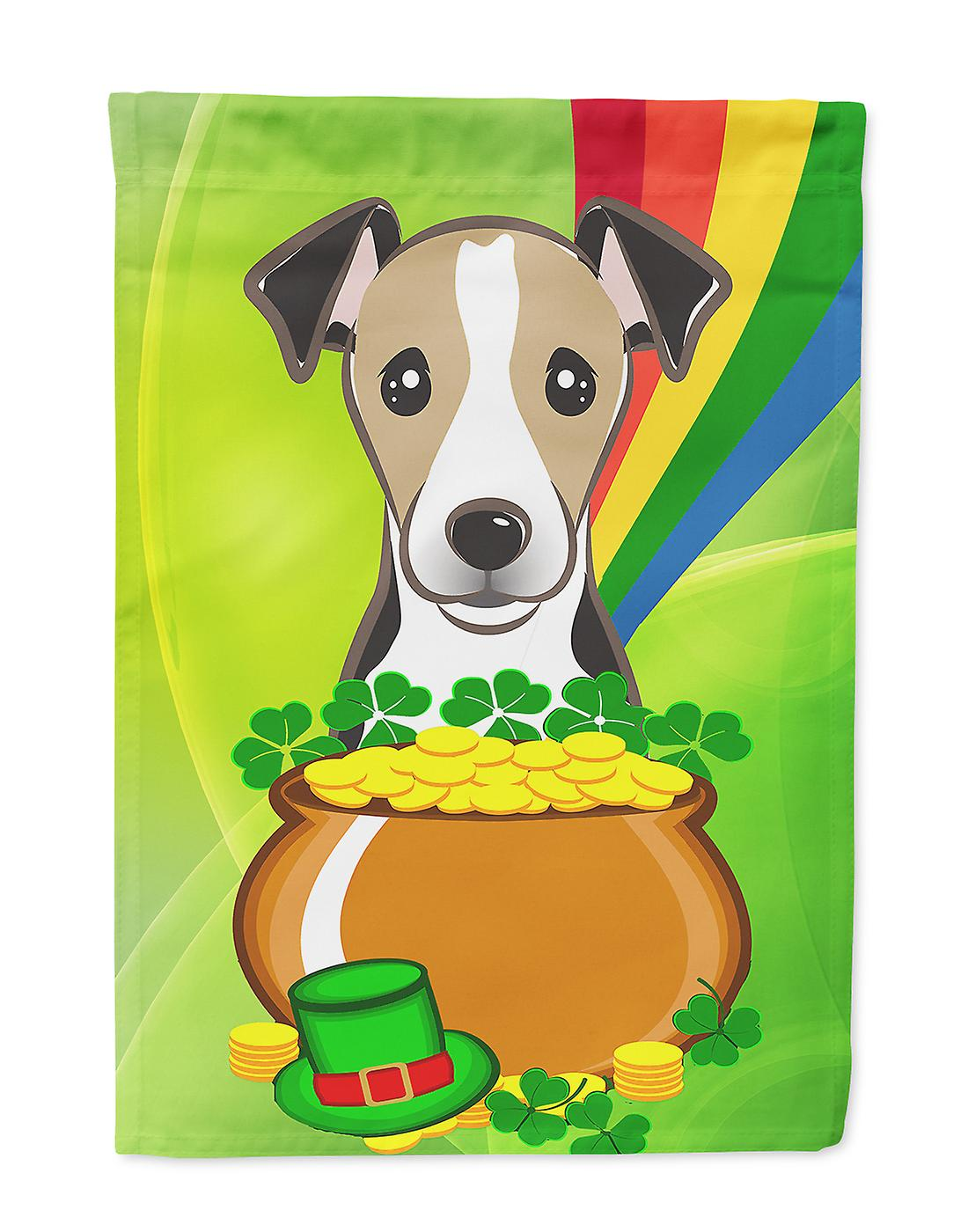 Jour Flag Jack Russell Terrier St.Patrick House Taille du canevas