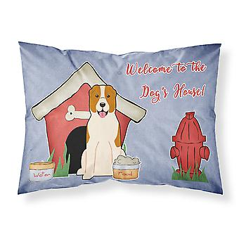 Dog House Collection Central Asian Shepherd Dog Fabric Standard Pillowcase