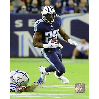 DeMarco Murray 2017 Action Photo Print