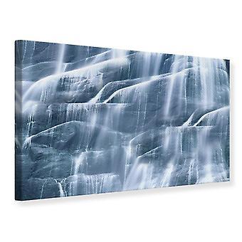 Lona impresión magnífica cascada
