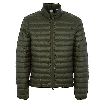 Aspesi men's I314E04185239 green polyester Quilted Jacket