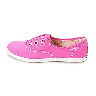 Keds Womens ROOKIE Canvas Low Top Slip On Fashion Sneakers