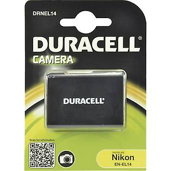 Camera battery Duracell replaces original battery EN-EL14 7.4 V