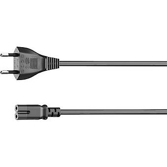 Current Mains cable Black 5 m Hama