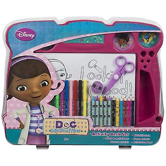 Doc McStuffins art set