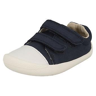 Boys Clarks Casual Full Shoes Tiny Pebble