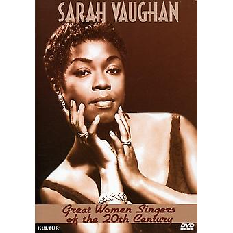 Sarah Vaughn - Great Women Singers of the 20th Century [DVD] USA import