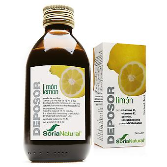 Soria Natural Lemon Deposor 240 Cc (Diet , Supplements)