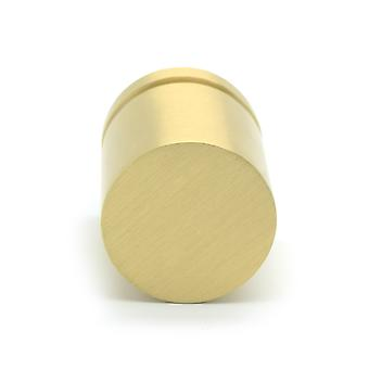 Brass Gold Cylinder Cupboard Drawer Pulls