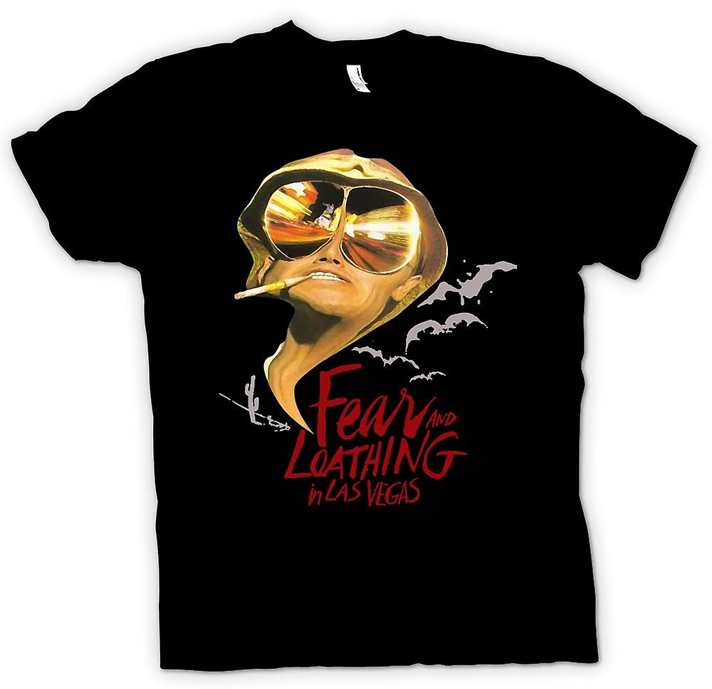 Womens T-shirt - Fear And Loathing Bats - Funny