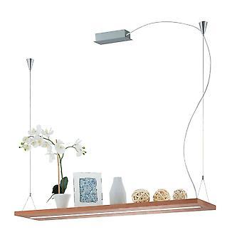 Eglo LED Hängende Lampe Eichefarben/Matt Nickel Monroy