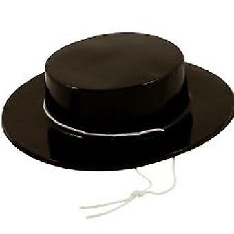 Spaanse kunststof hoed