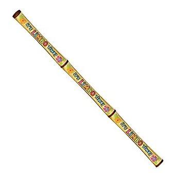 Jogo de Stick de Limbo inflável Luau 6 pés de comprimento