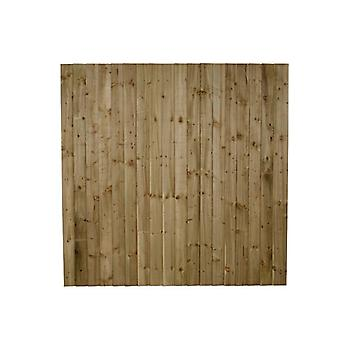 Forest Garden 6ft Pressure Treated Featheredge Fence Panel