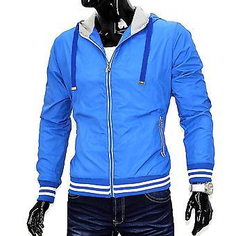 Men's jacket of windbreaker jacket Jacket College wind jacket with hood