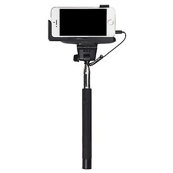 KITSOUND Selfiestick 23-105 cm Threaded 3, 5 mm Trigger Black