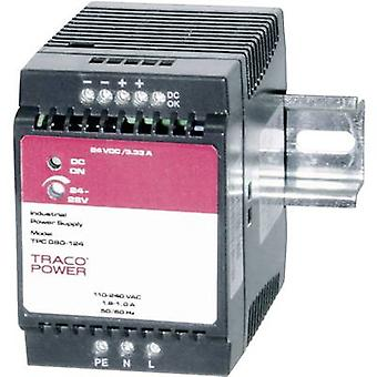 TracoPower TPC 080-124 Rail mounted PSU (DIN) 24 Vdc 3.3 A 80 W 1 x