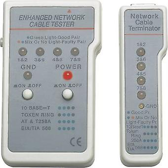 Network tester Compatible with: CAT 3, CAT 4, CAT 5, CAT 5e, CAT 6, CAT 6A Intellinet