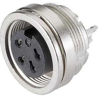 Binder 09-0474-00-08 Miniature Round Plug Connector Series 581 And 680 Nominal current (details): 5 A Number of pins: 8 DIN