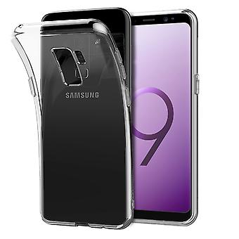 Samsung Galaxy S9 plus transparent case cover silicone