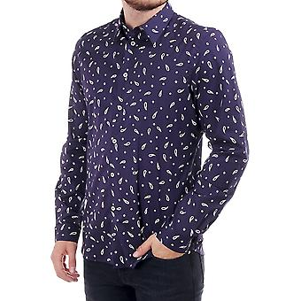 PS Paul Smith Tailored Fit Ls Paisley Shirt