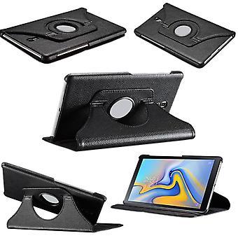 Nieuw A-10.5 T590 T595 zwarte 360 graden gevaldekking van het zakje case voor Samsung Galaxy tab
