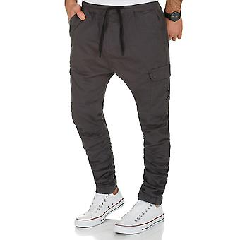 L.A.B 1928 men's cargo pants joggers anthracite
