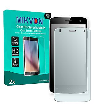 Kazam Trooper 450 Screen Protector - Mikvon Clear (Retail Package with accessories)