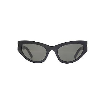Saint Laurent SL 215 Grace Sunglasses In Black