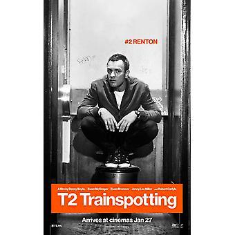 T2 Affiche du film de Trainspotting (11 x 17)