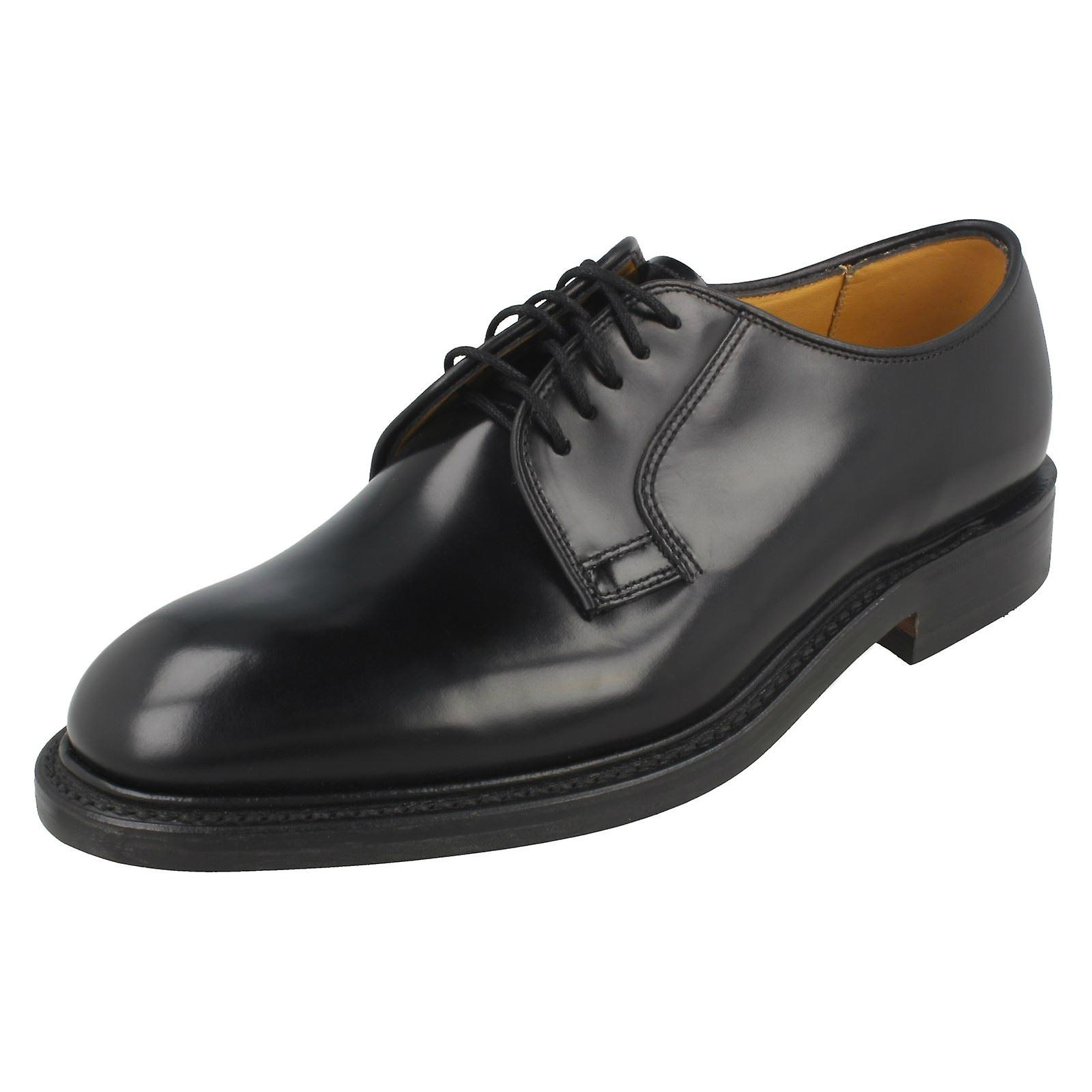 Mens Loake poli cuir chaussures formelle 771B