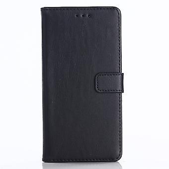 Huawei Honor 10 Retro Plånboksfodral - Svart