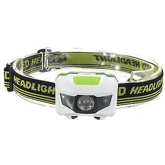 Lightweight headlamp with detachable straps