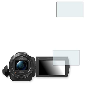 Sony FDR AX33 screen protector - Golebo crystal clear protection film
