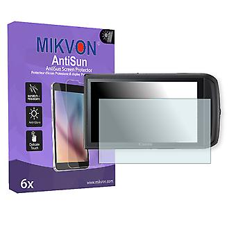Canon PowerShot SD3500 IS Screen Protector - Mikvon AntiSun (Retail Package with accessories)