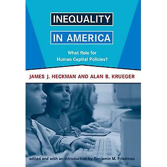 Inégalité en Amérique - quel rôle pour les politiques de Capital humains? par James