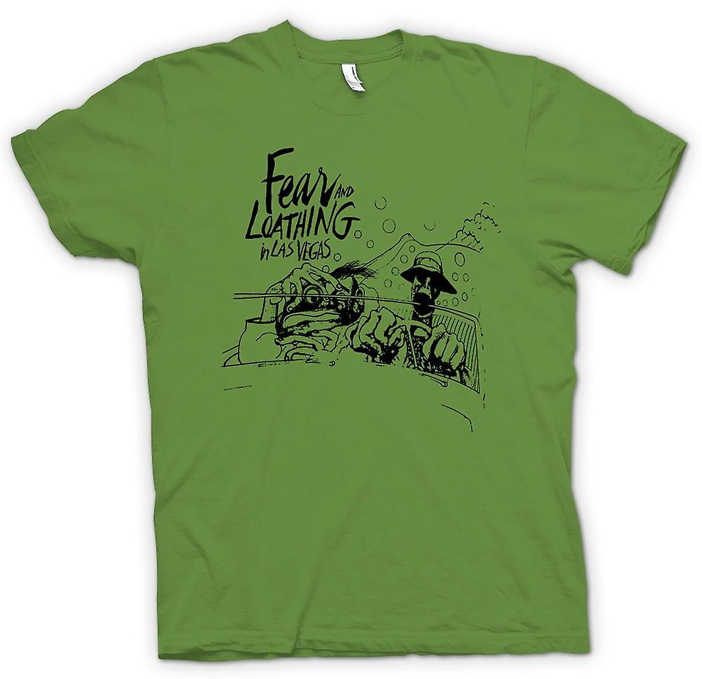 Heren T-shirt - Fear And Loathing - Cartoon - Funny