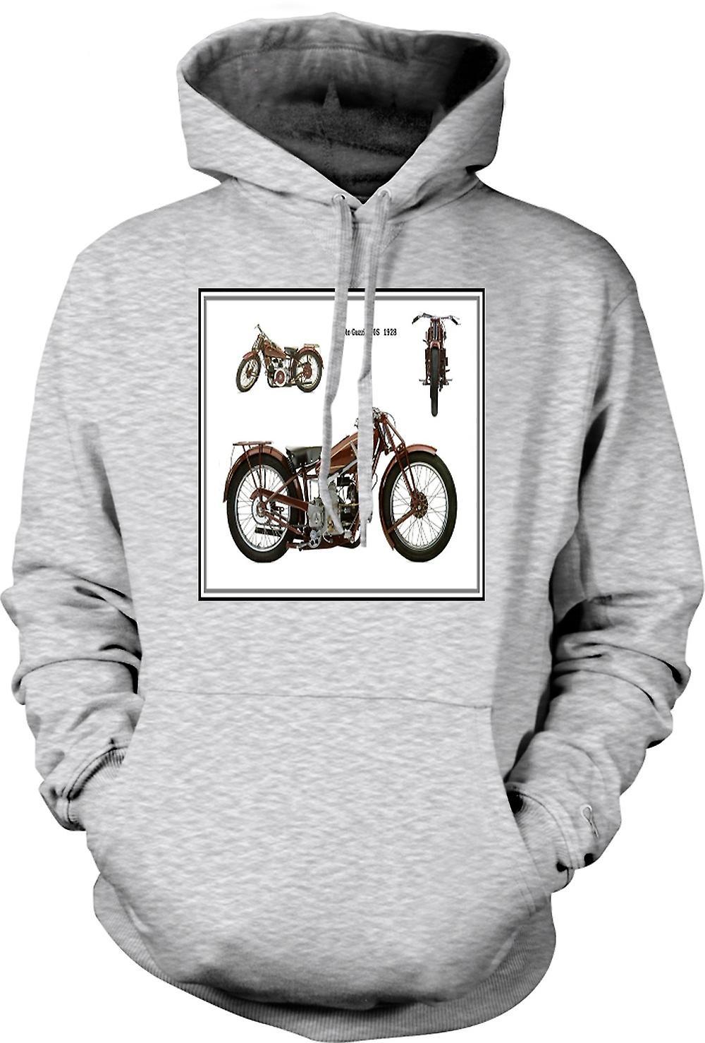 Mens Hoodie - Moto Guzzi 500S 1928 Classic Bike